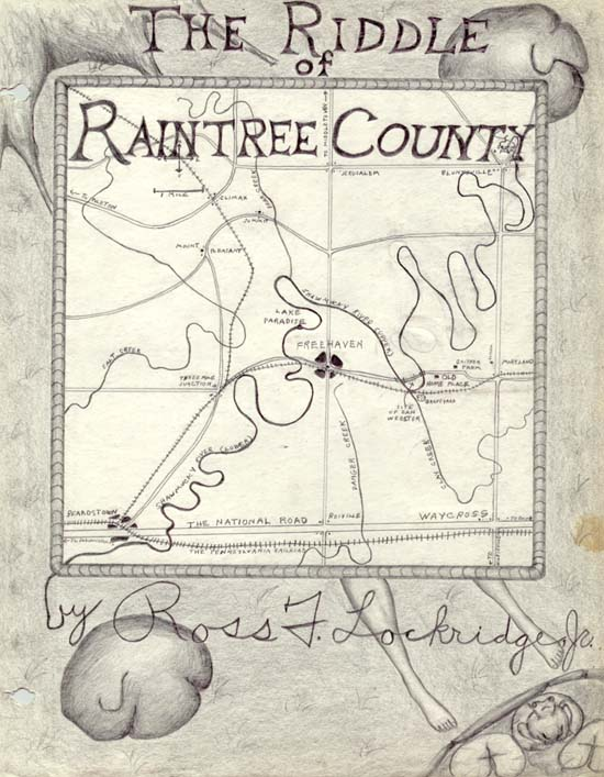 The Riddle of Raintree County Cover Sketch
